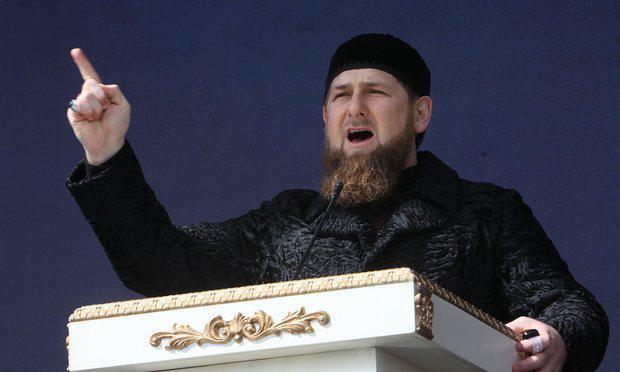 photo du président Ramzan Kadyrov