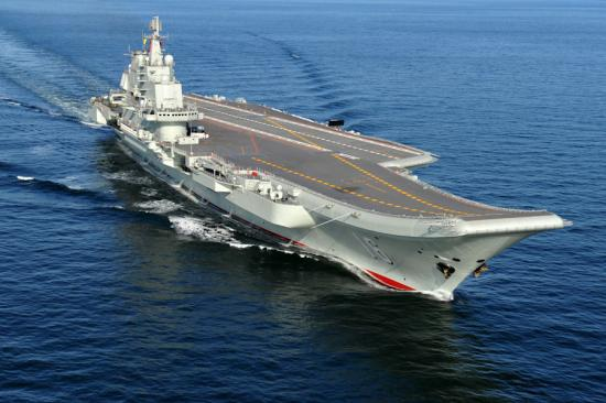 Chine porte avions liaoning 16