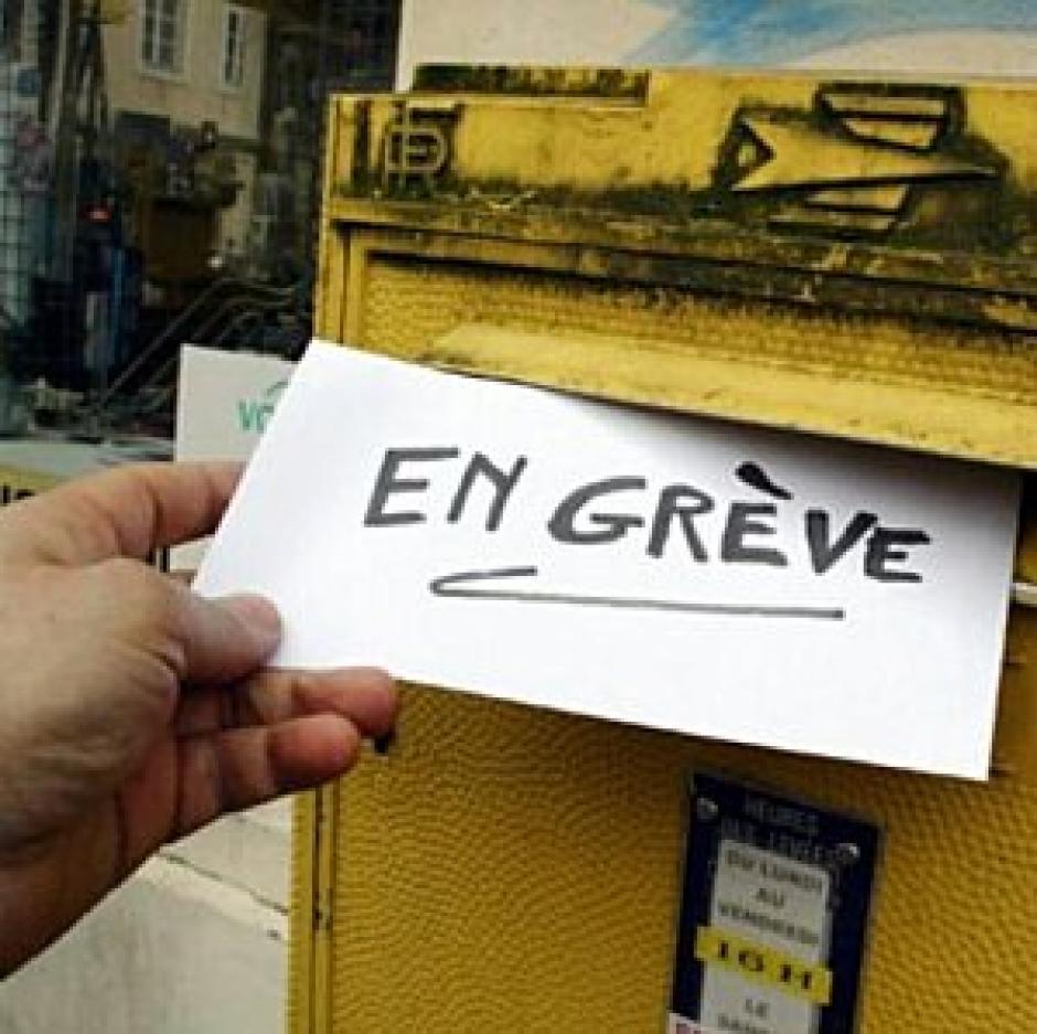 Législatives : Préavis de grève à la poste