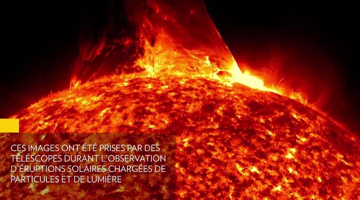 ALERTE puissantes éruptions solaires Deux puissantes éruptions solaires pourraient affecter la Terre