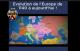 Carte qui met en avant l'évolution des États, des frontières, etc. de l'Europe de 1140 à aujourd'hui !