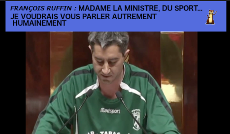 VIDEO : François Ruffin, Madame la ministre du sport