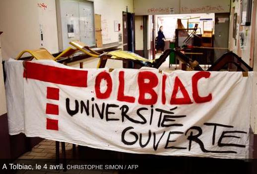 Tolbiac : la justice rejette la demande de levée du blocage