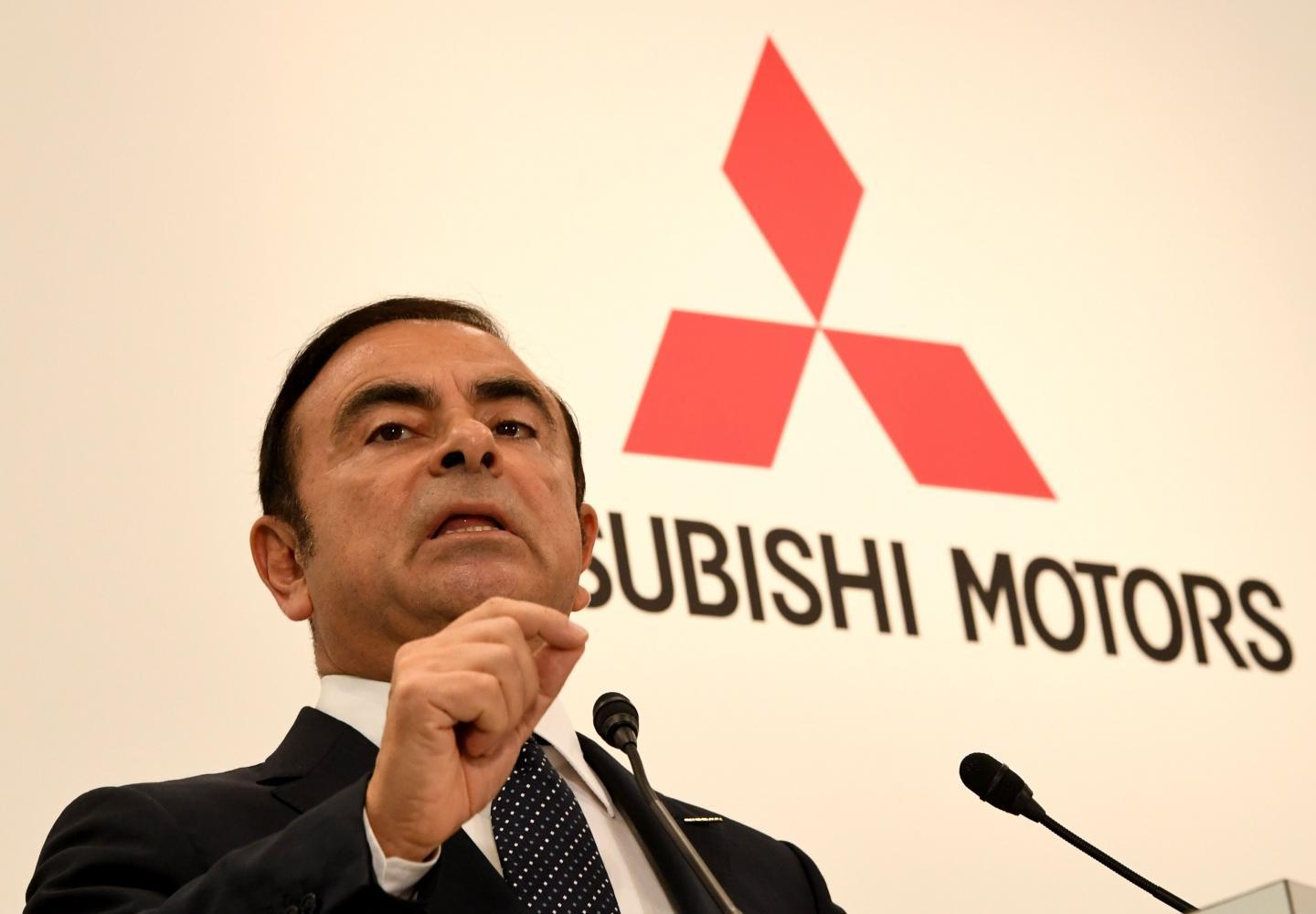 Ghosn mitsubishi