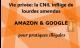 Lourdes amendes à Google et Amazon pour pratiques illégales