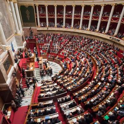Hemicycle de l assemblee nationale slide full