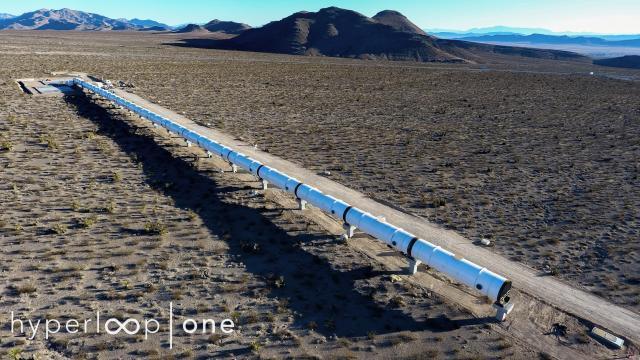 Hyperloop apres un nouveau test reussi la phase de commercialisation va commencer