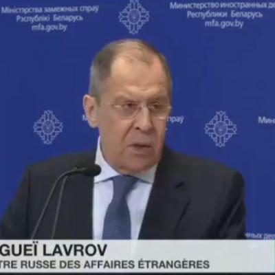 Ministre russe affaire etrangere