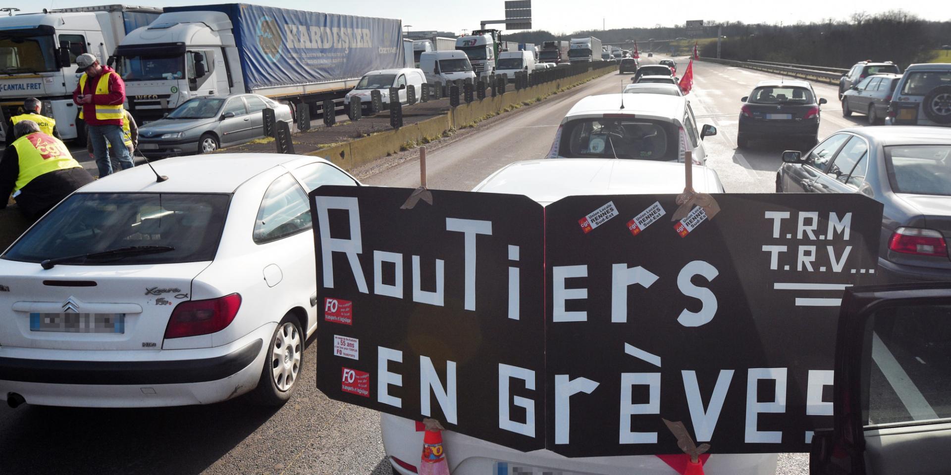 O greve des routiers