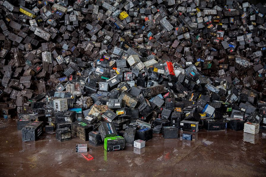 Recylex batteries usagees recyclage