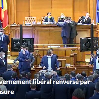 Roumanie censure