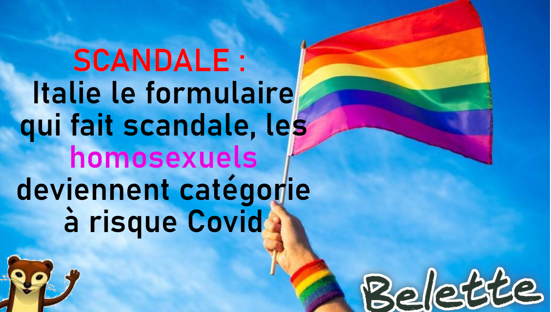 Scandale italie lgbt xcf