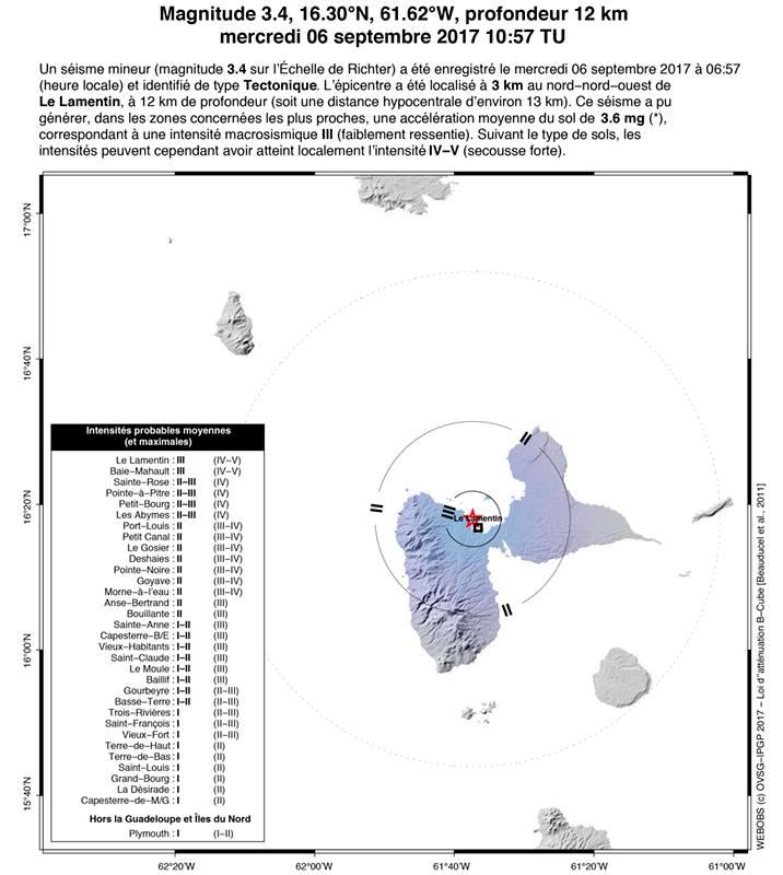 Seisme mineur magnitude 3 4