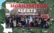 défilé•e•s en direction du Ministère de l'Enseignement Supérieur ce mercredi midi à Paris.